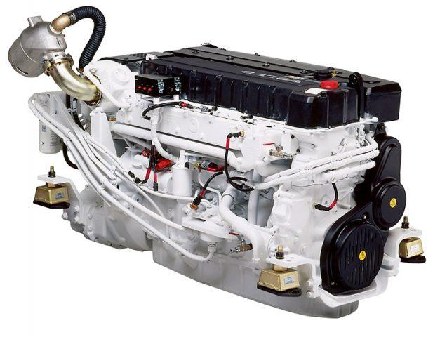 Стационарные дизельные судовые двигатели